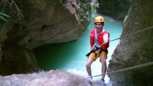 Canyoning in Cebu, Philippines