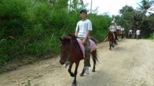 Trekking in Cebu, Philippines